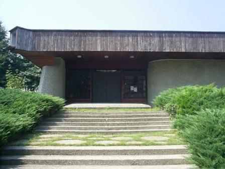 Входа на музей на неолитните жилища